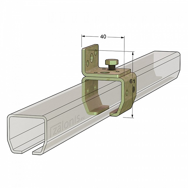 WALL RAIL SUPPORT H21